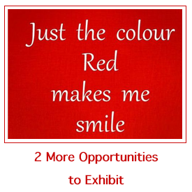 Red Challenge: 2 additional opportunities to exhibit