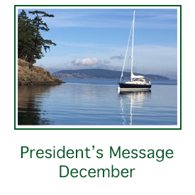 Rita Jacques sailboat logo for president's message