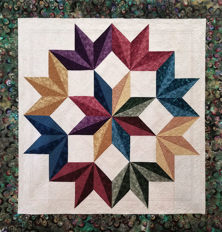 photo of 2019 raffle quilt