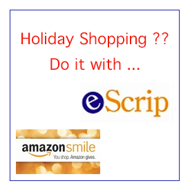 Amazon Smile and Escrip for the holidays