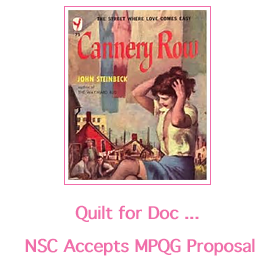 Quilt for Doc proposal accepted