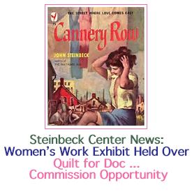 Women's Work Exhibit Held over at the Steinbeck
