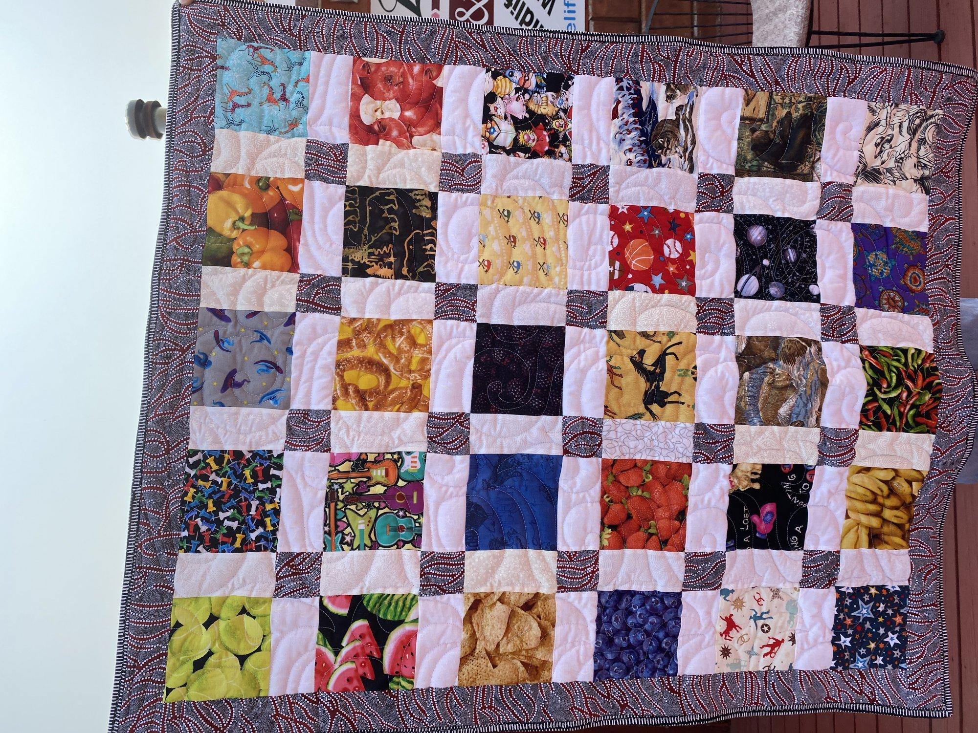 I Spy Quilt By Carlene 33x39