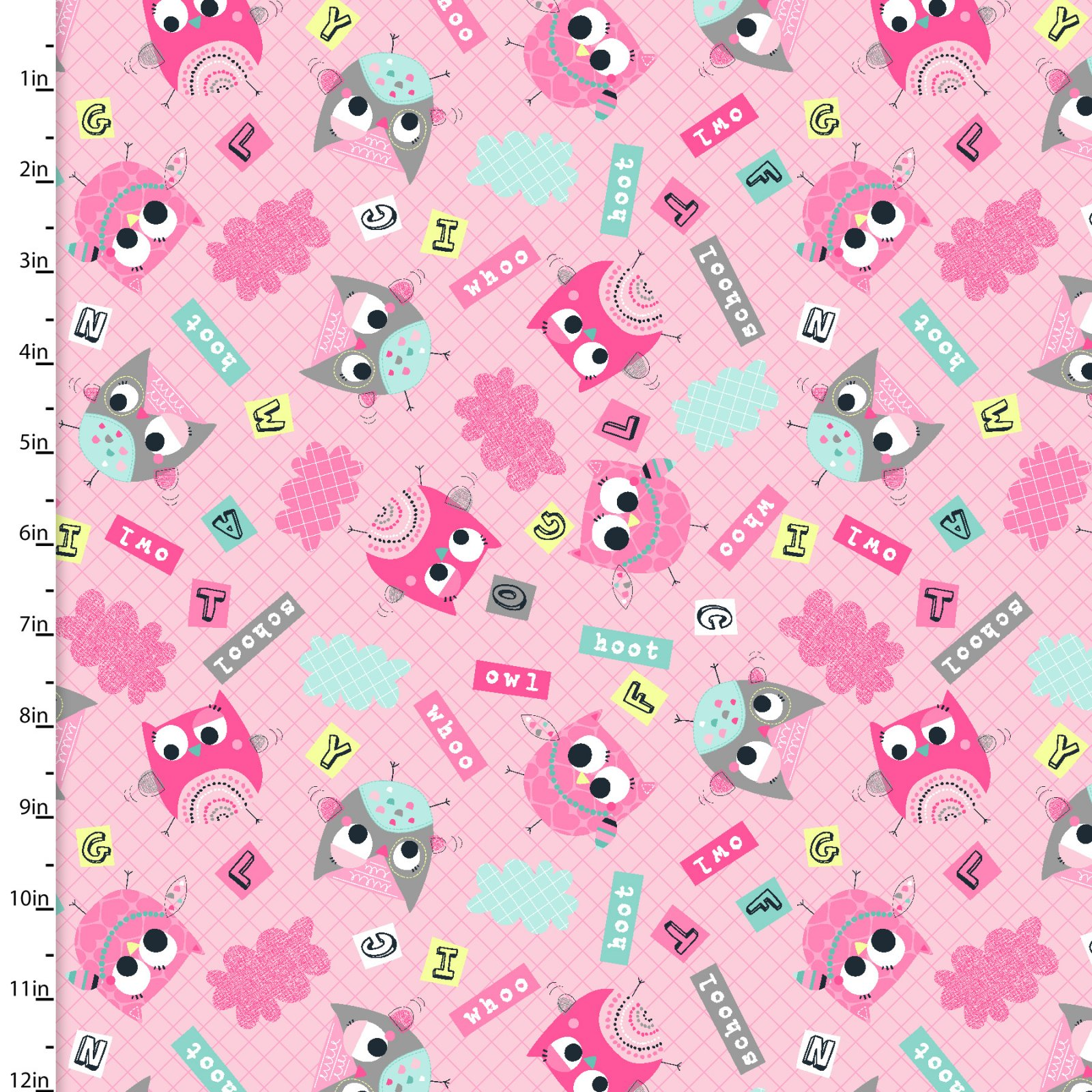 Owl School Collection<br>10929-PINK