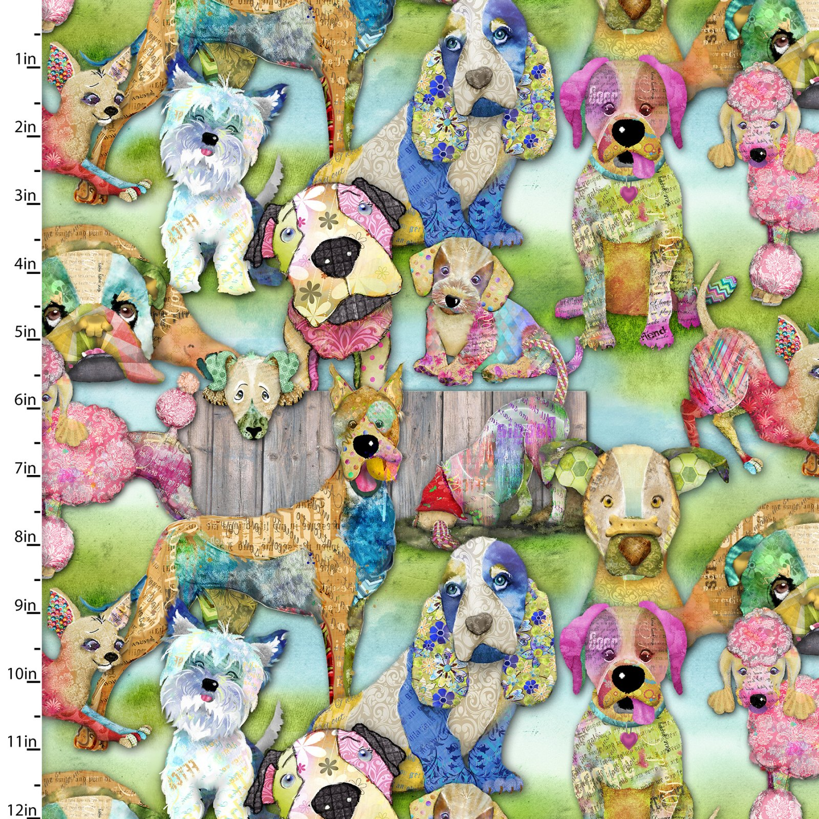 Good Dogs Collection<br>12205-MULTI