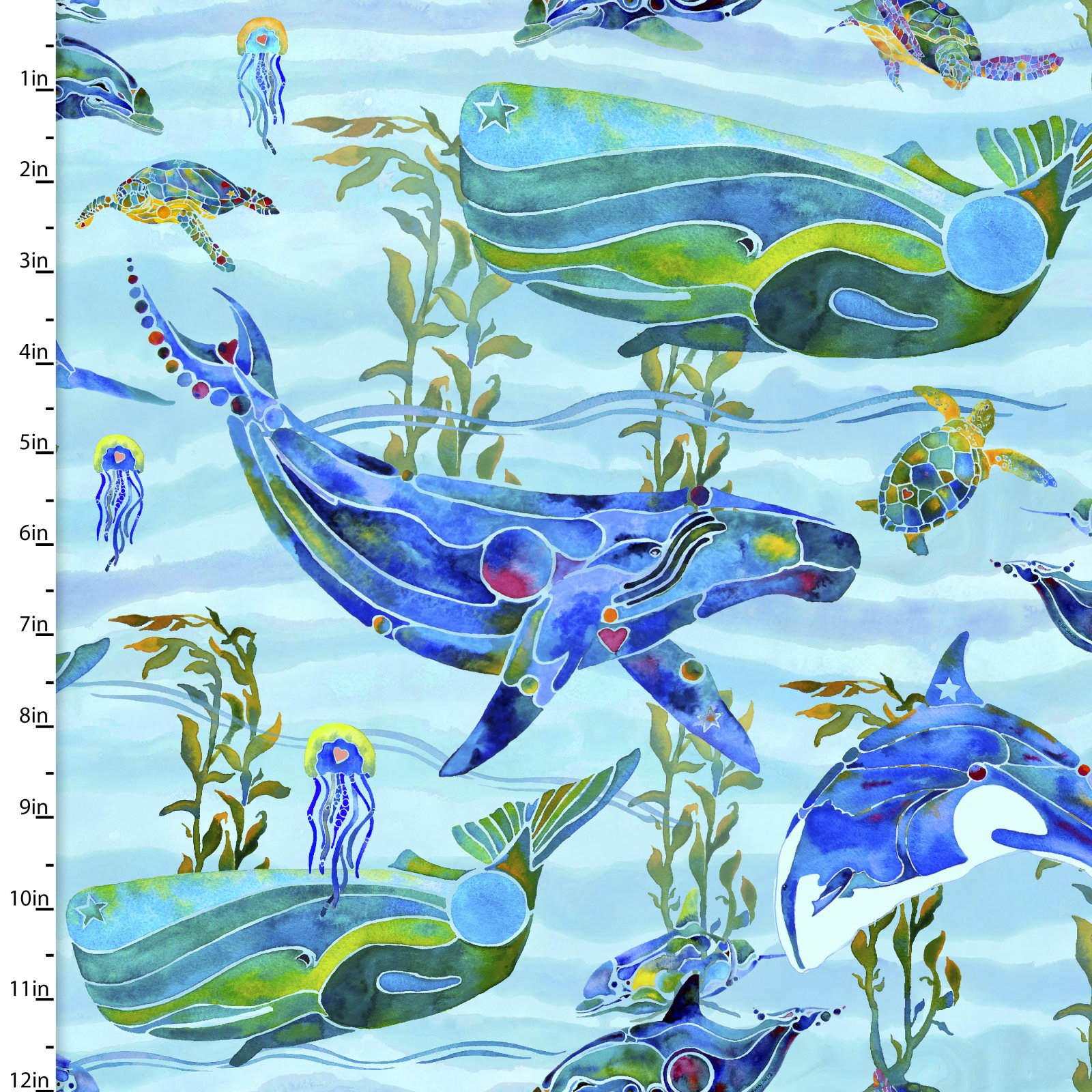 Under the Sea Collection<br>12287-Lt Blue