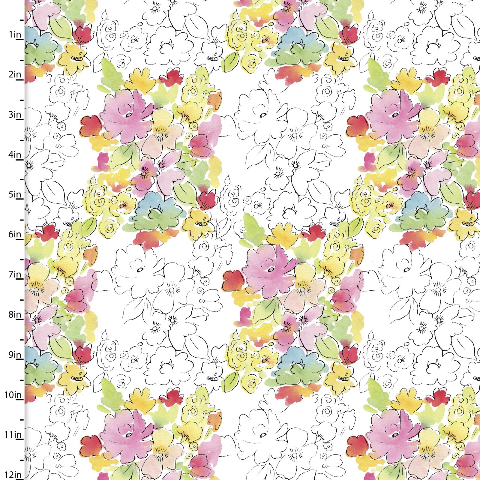 Happy Meadow Collection<br>12320-White