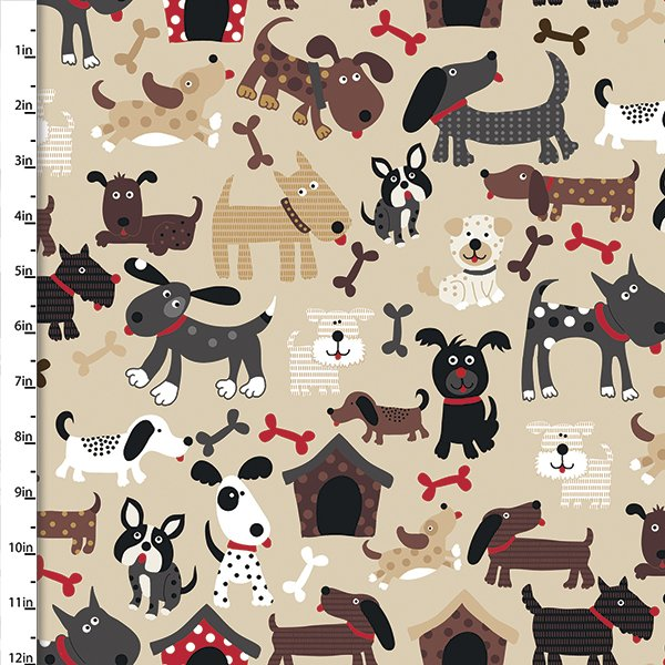 Doggie Land Collection<br>12461-Tan