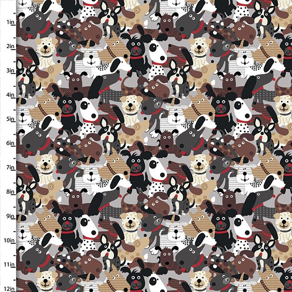 Doggie Land Collection<br>12464-Multi