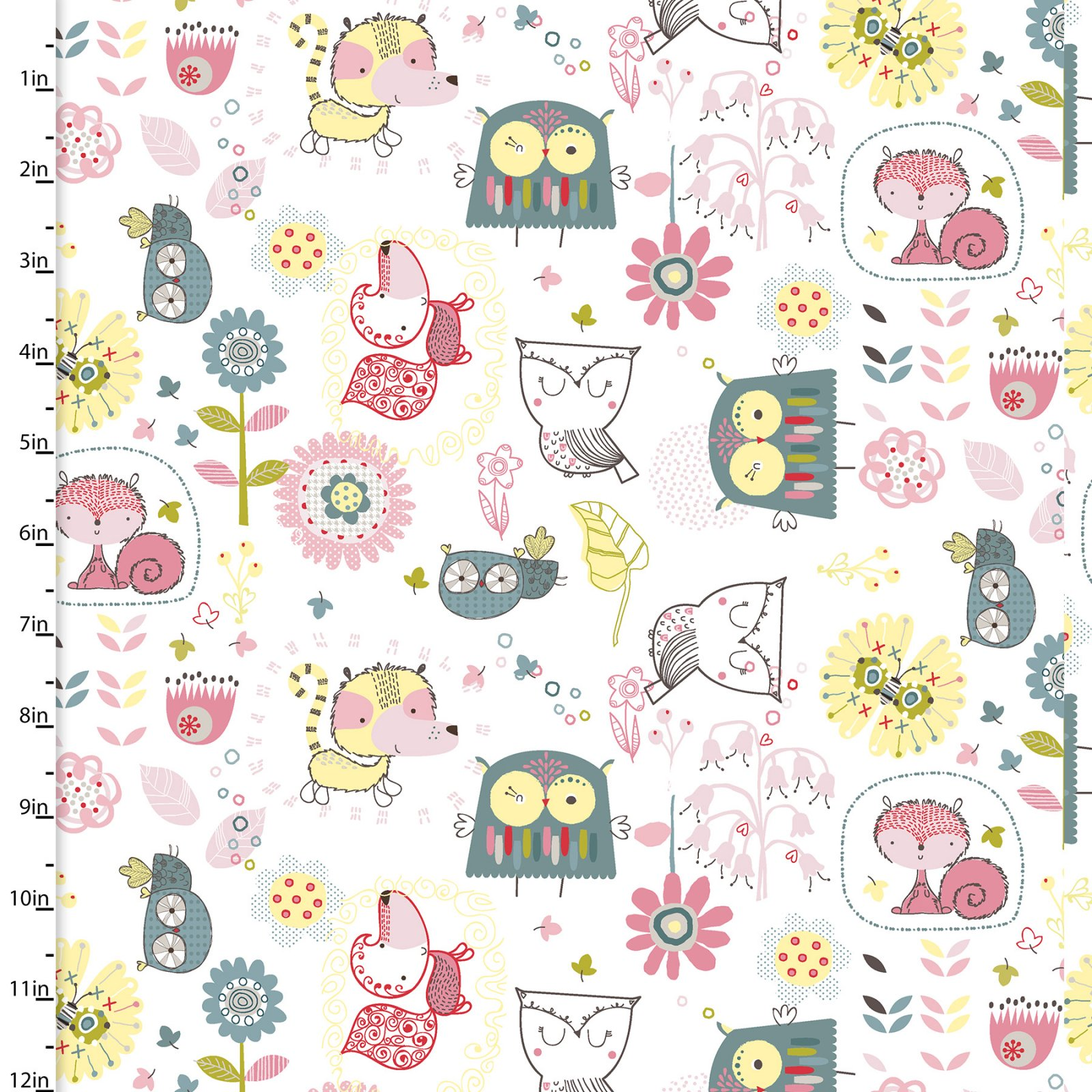 Whimsy Woodland Collection<br>12729-WHITE