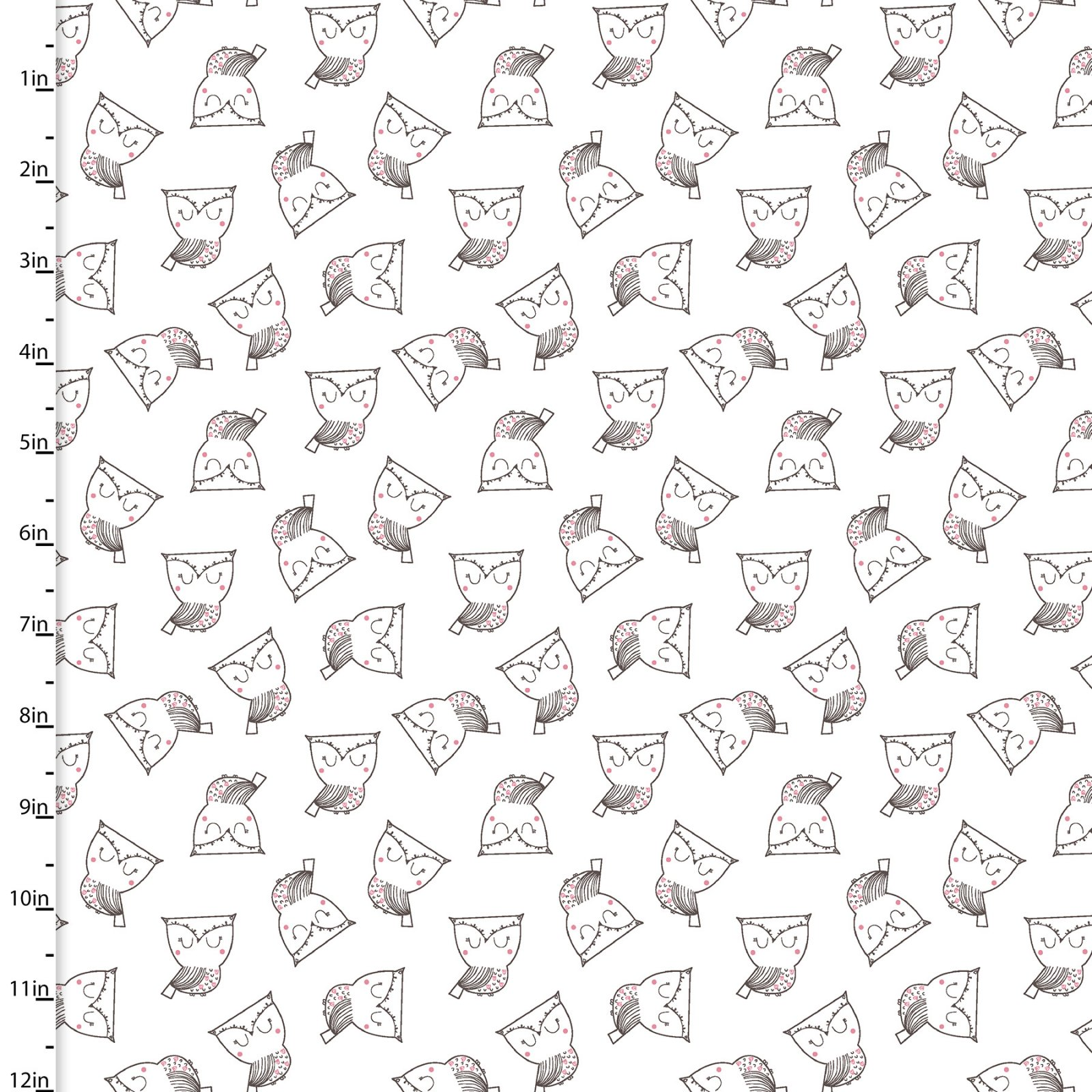 Whimsy Woodland Collection<br>12738-WHITE