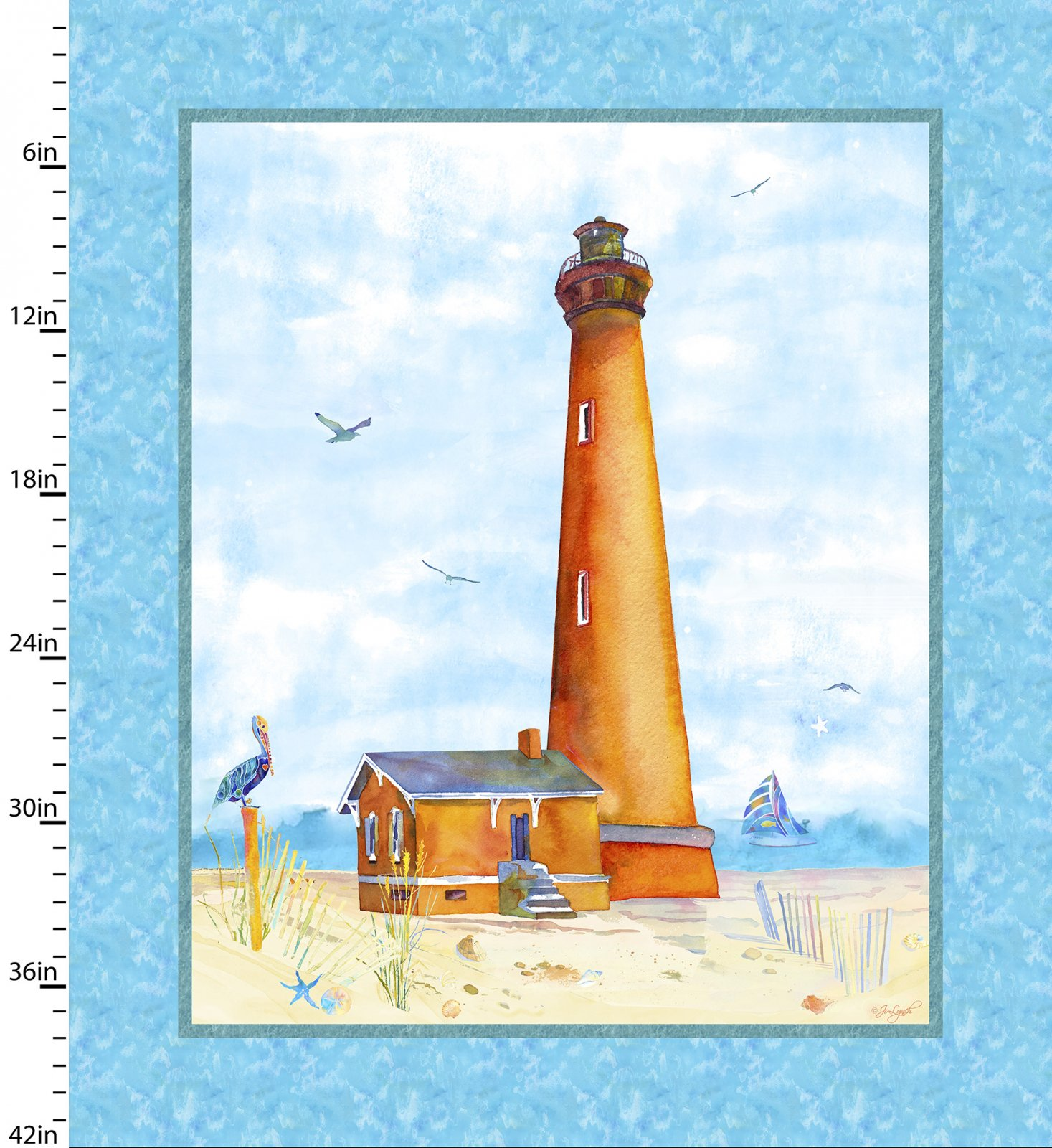 By the Sea Collection<br> 12996-Blue
