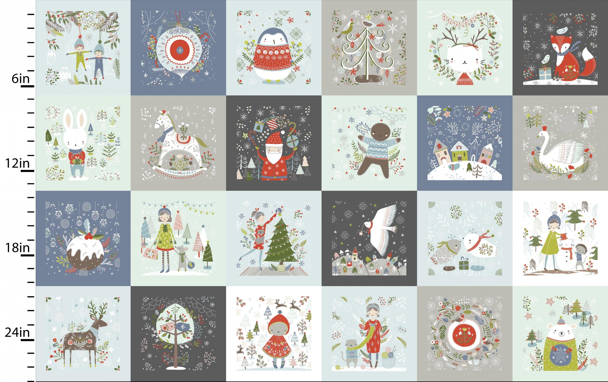Happy Holidays by Flora Waycott<br>13838-Multi