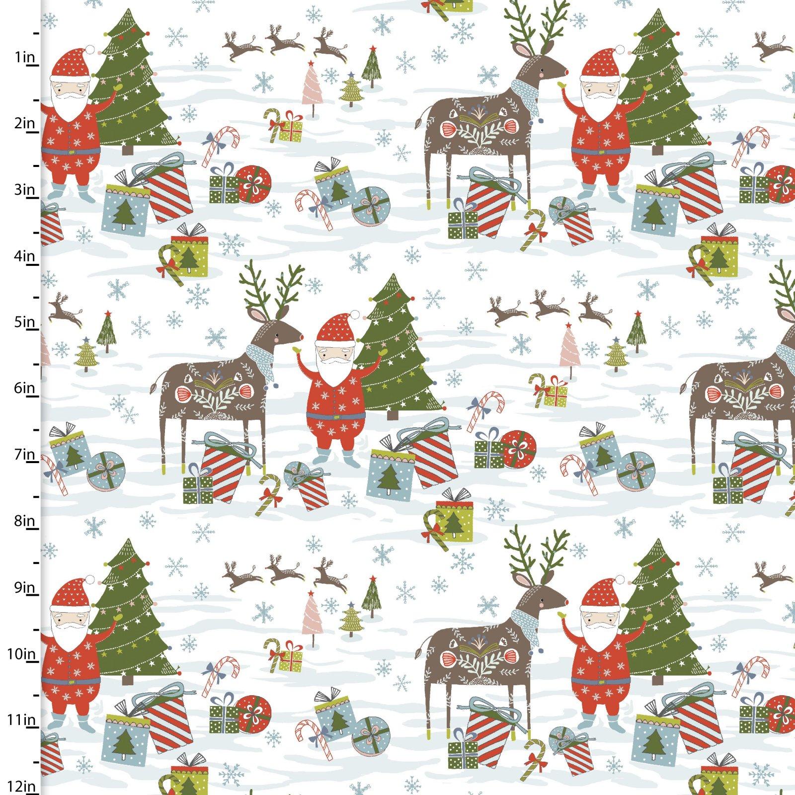 Happy Holidays by Flora Waycott<br>13839-White