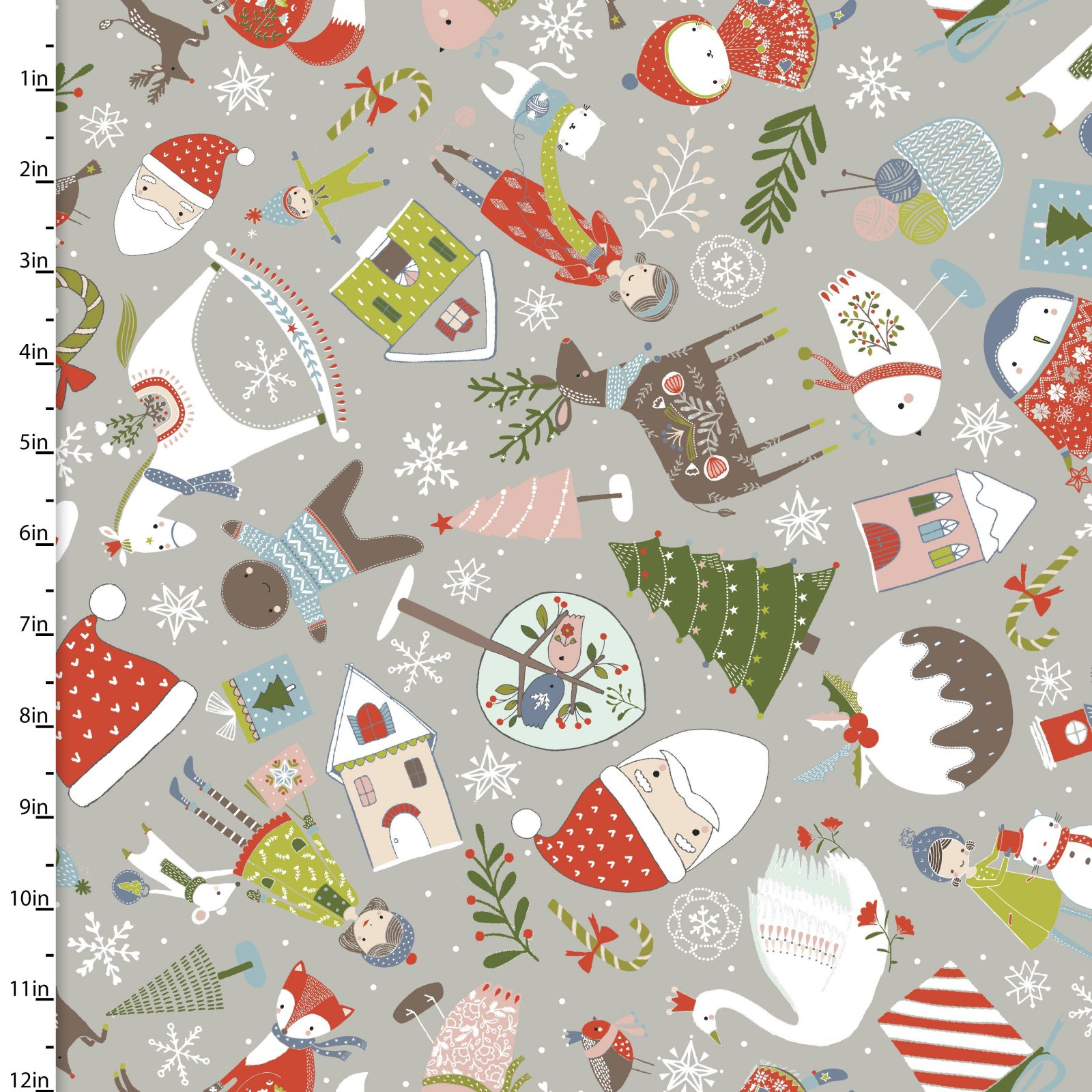 Happy Holidays by Flora Waycott<br>13843-Gray