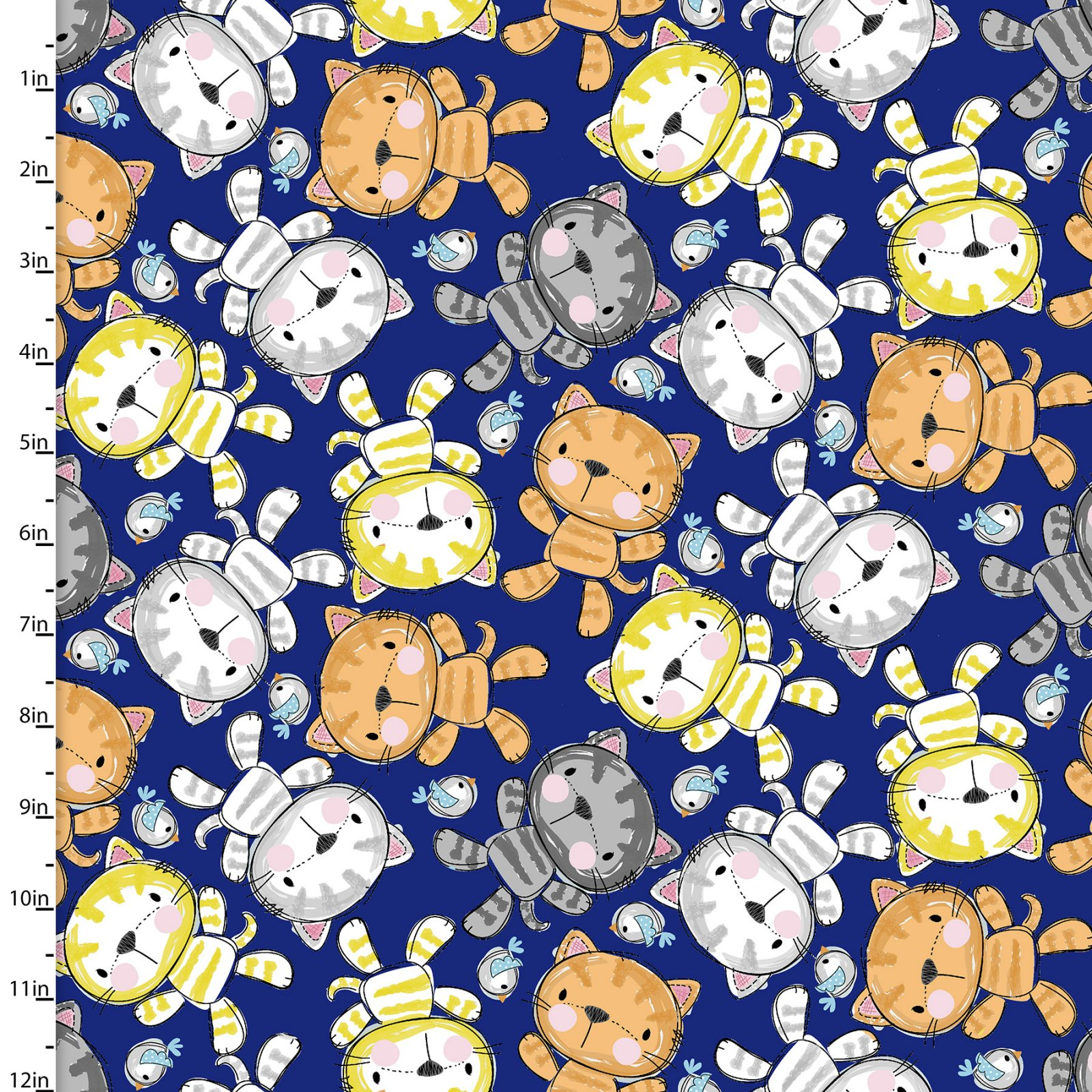 Purrfect Pals Collection<br>13863-Navy