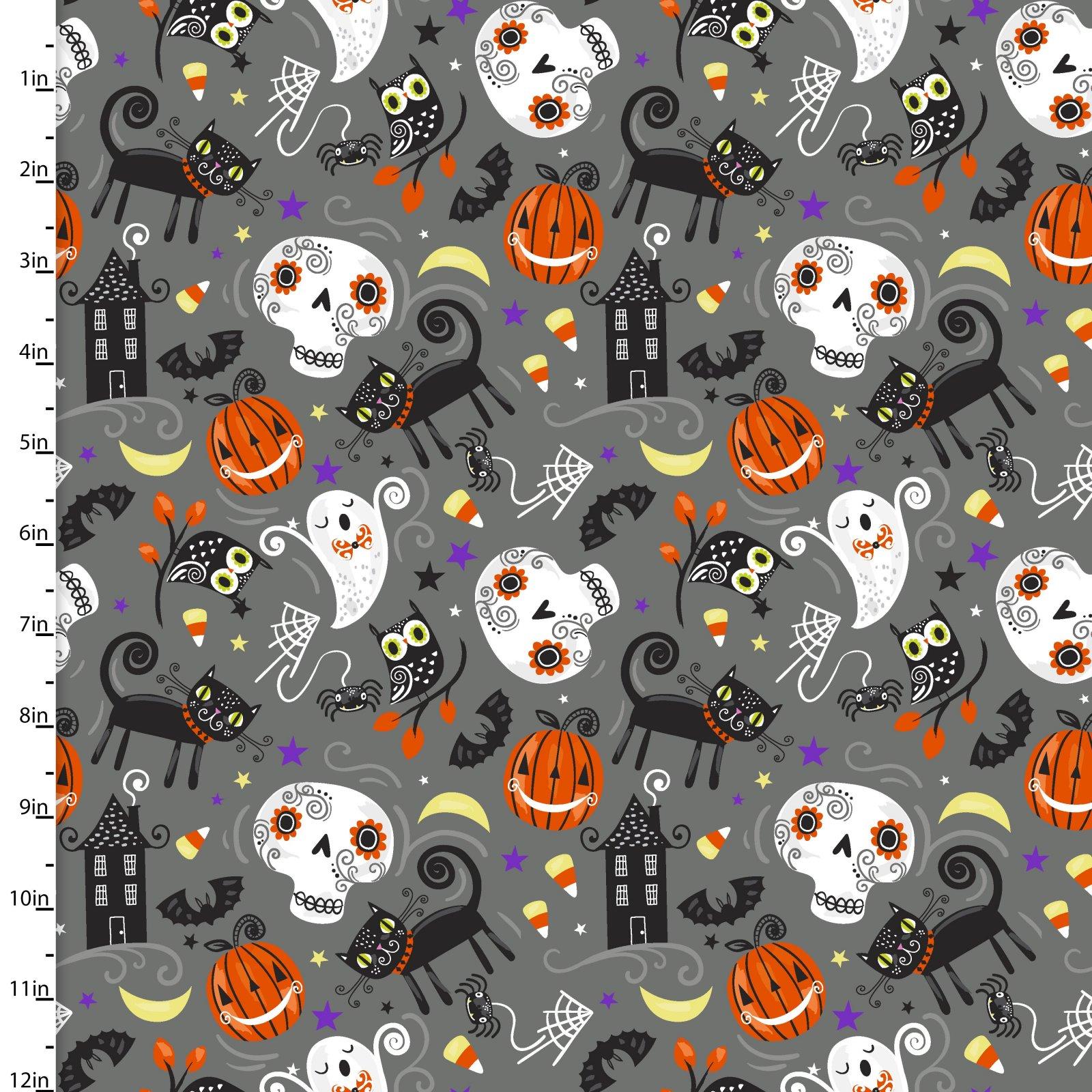Halloween Trick or Treat<br>13888-GRAY