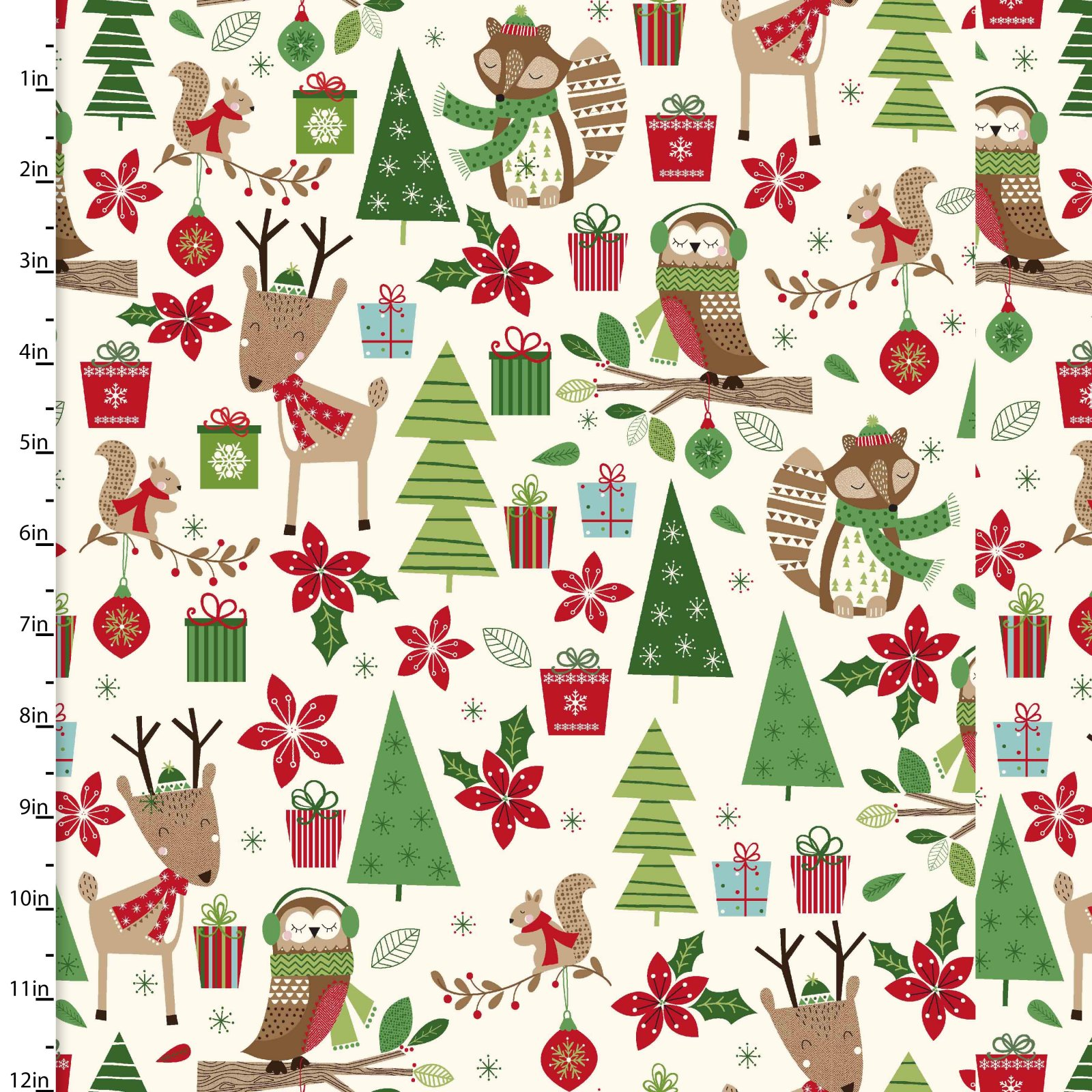 Merry Forest<br>13903-CREAM