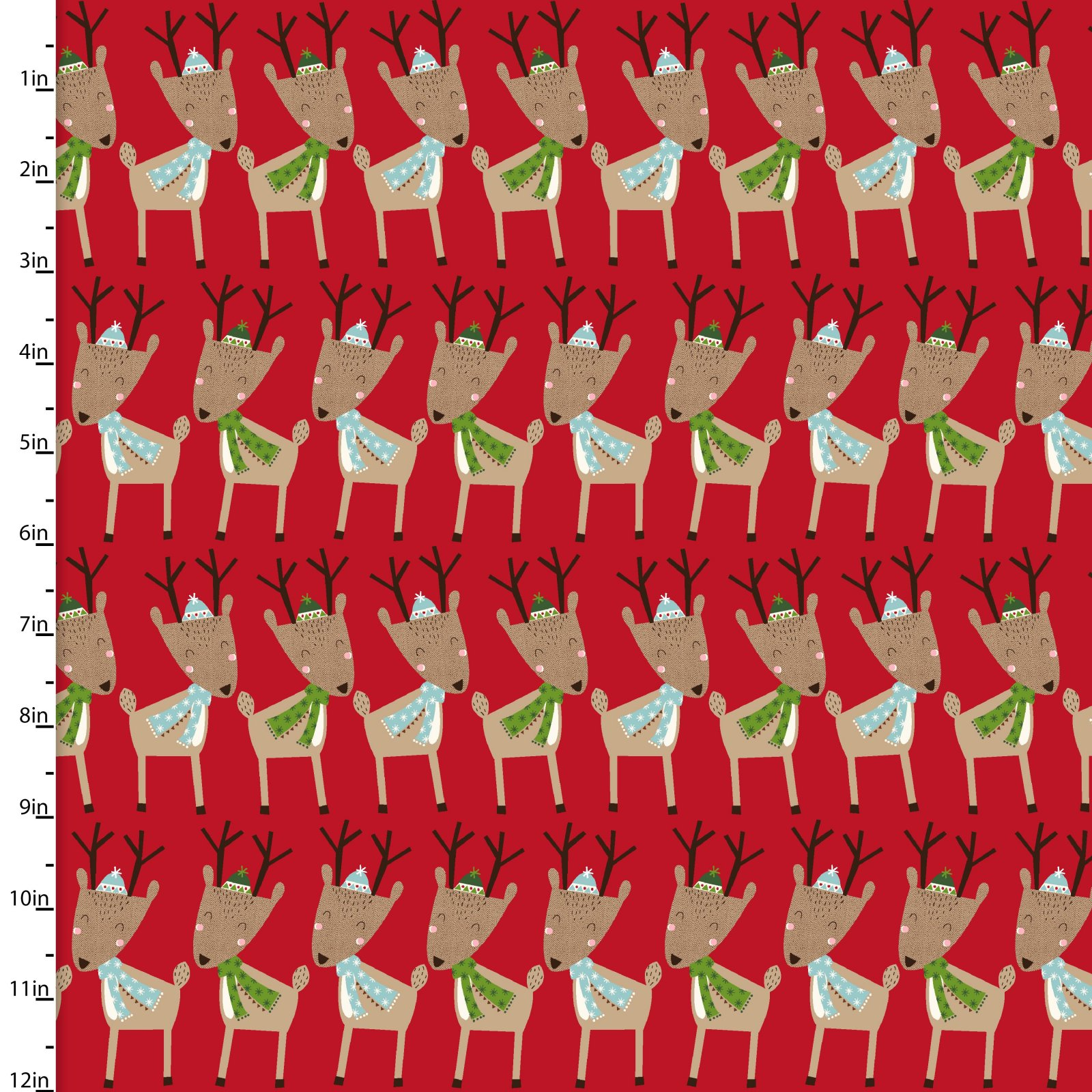 Merry Forest<br>13907-RED