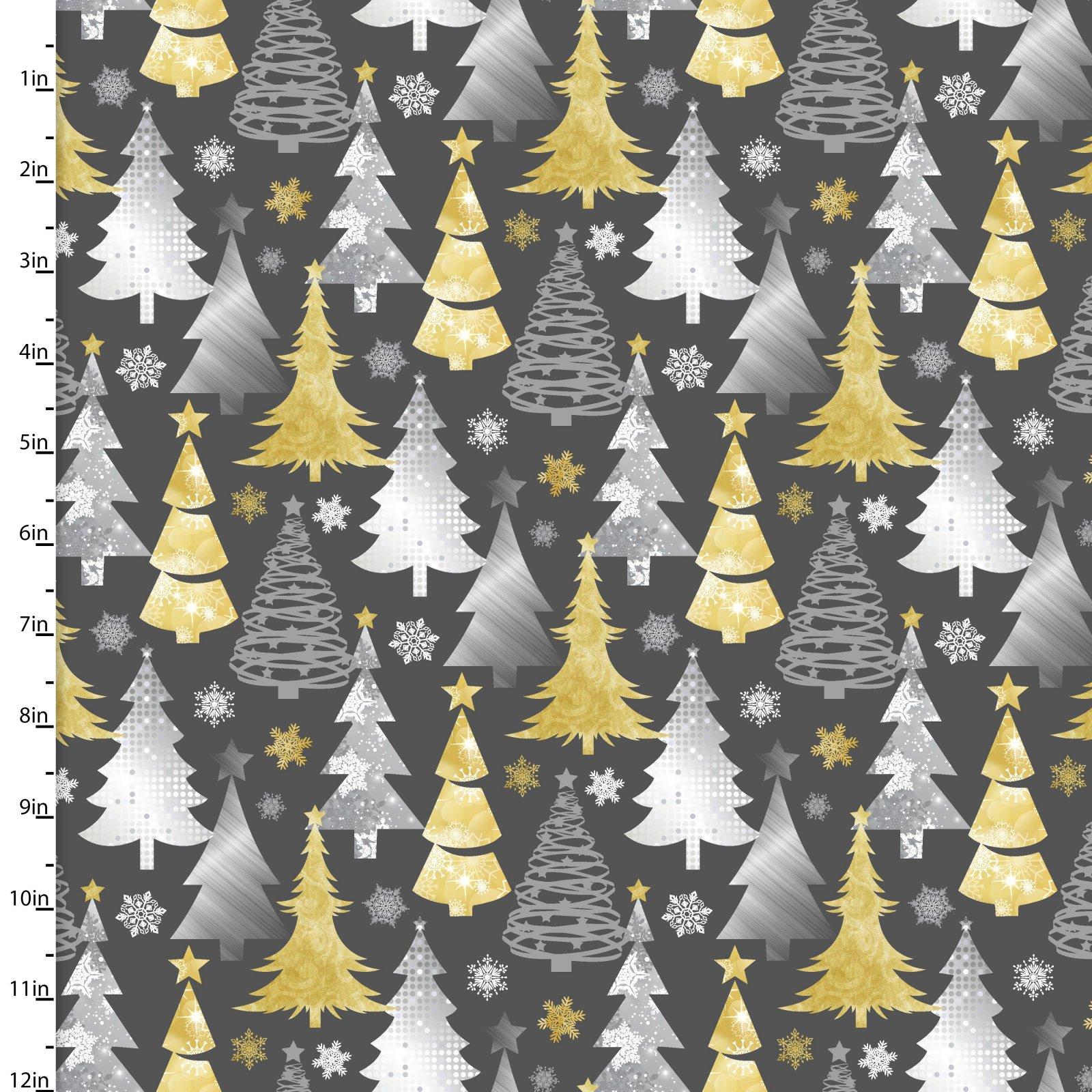 Metallic Forest <br>13908-DK GRAY