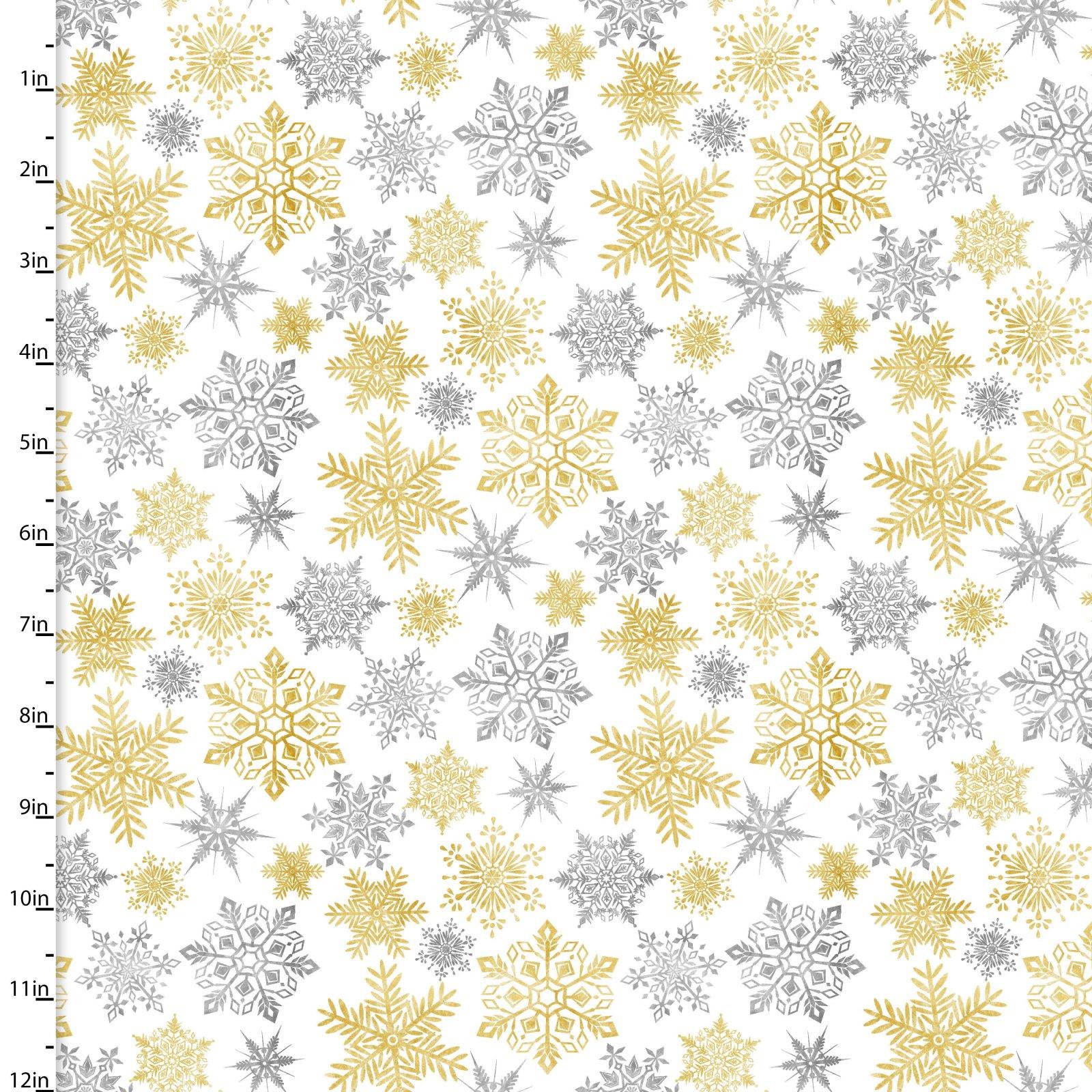 Metallic Forest <br>13911-WHITE