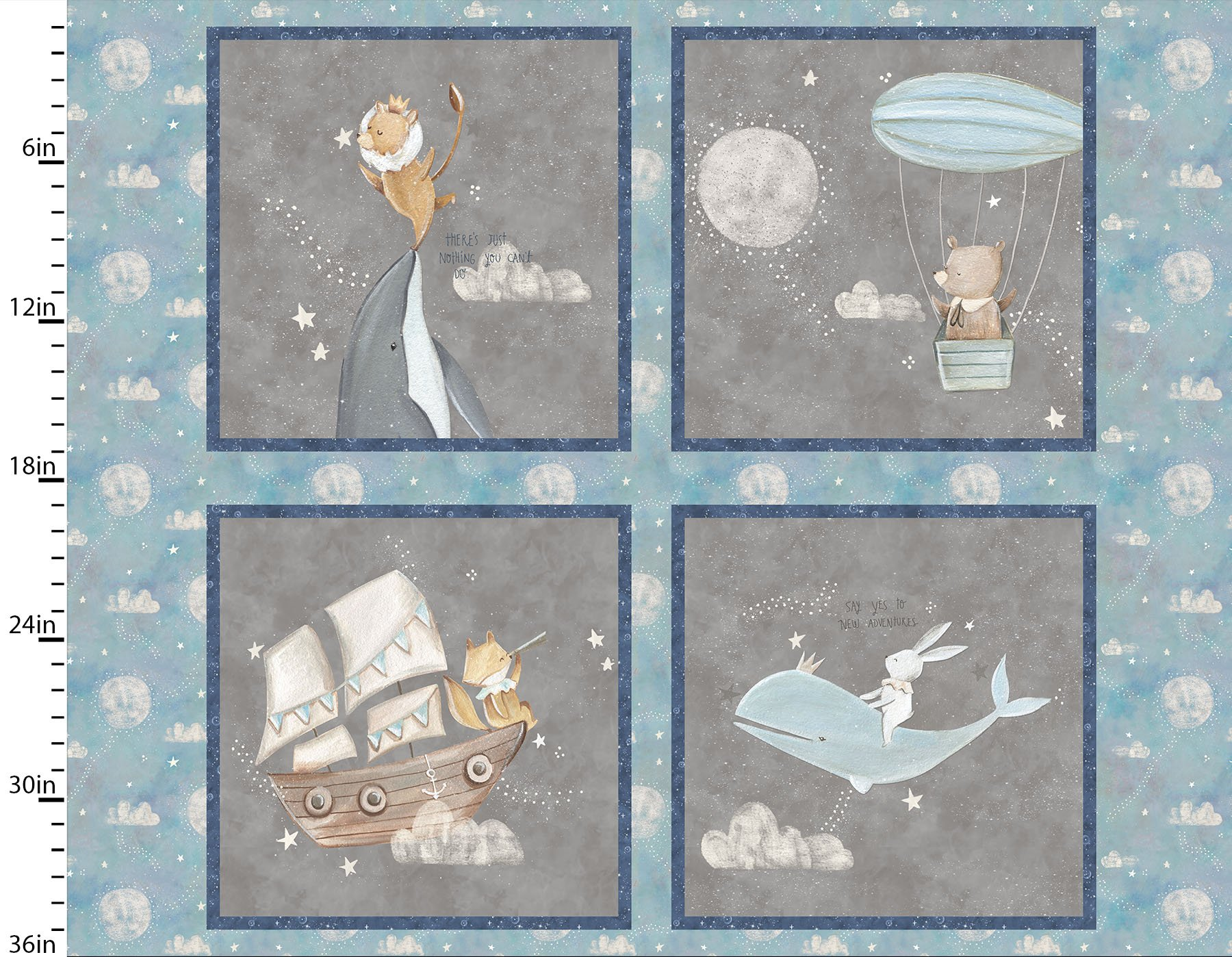 Adventures In The Sky Collection<br>14653-MULTI