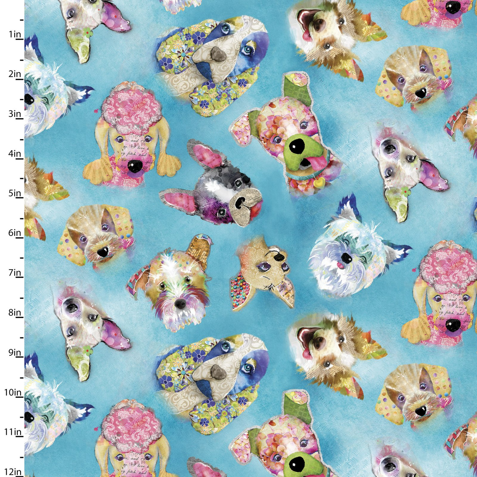 Good Dogs Too Collection<br>14847-BLUE