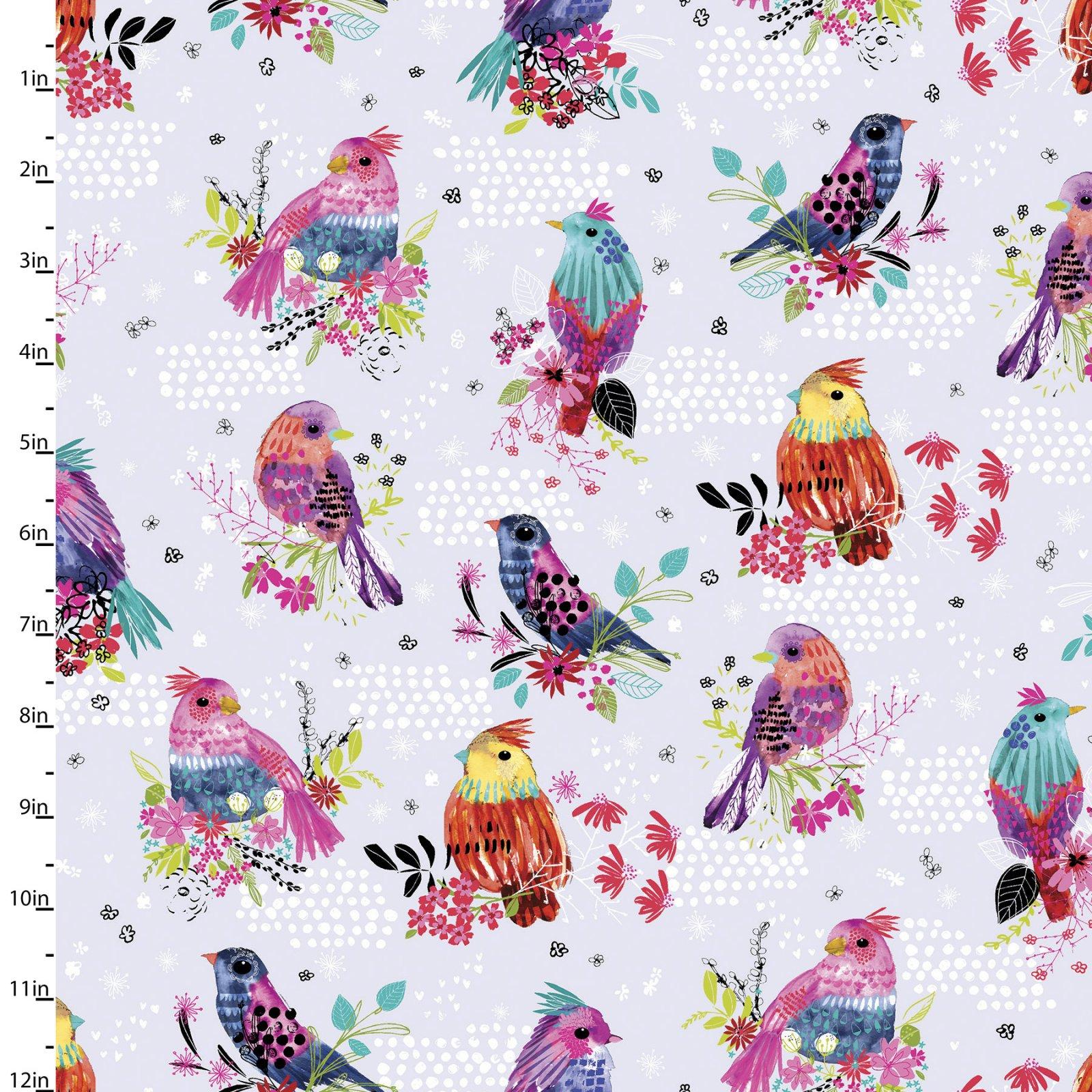 Bright Birds Collection<br>14986-LTLAVENDER