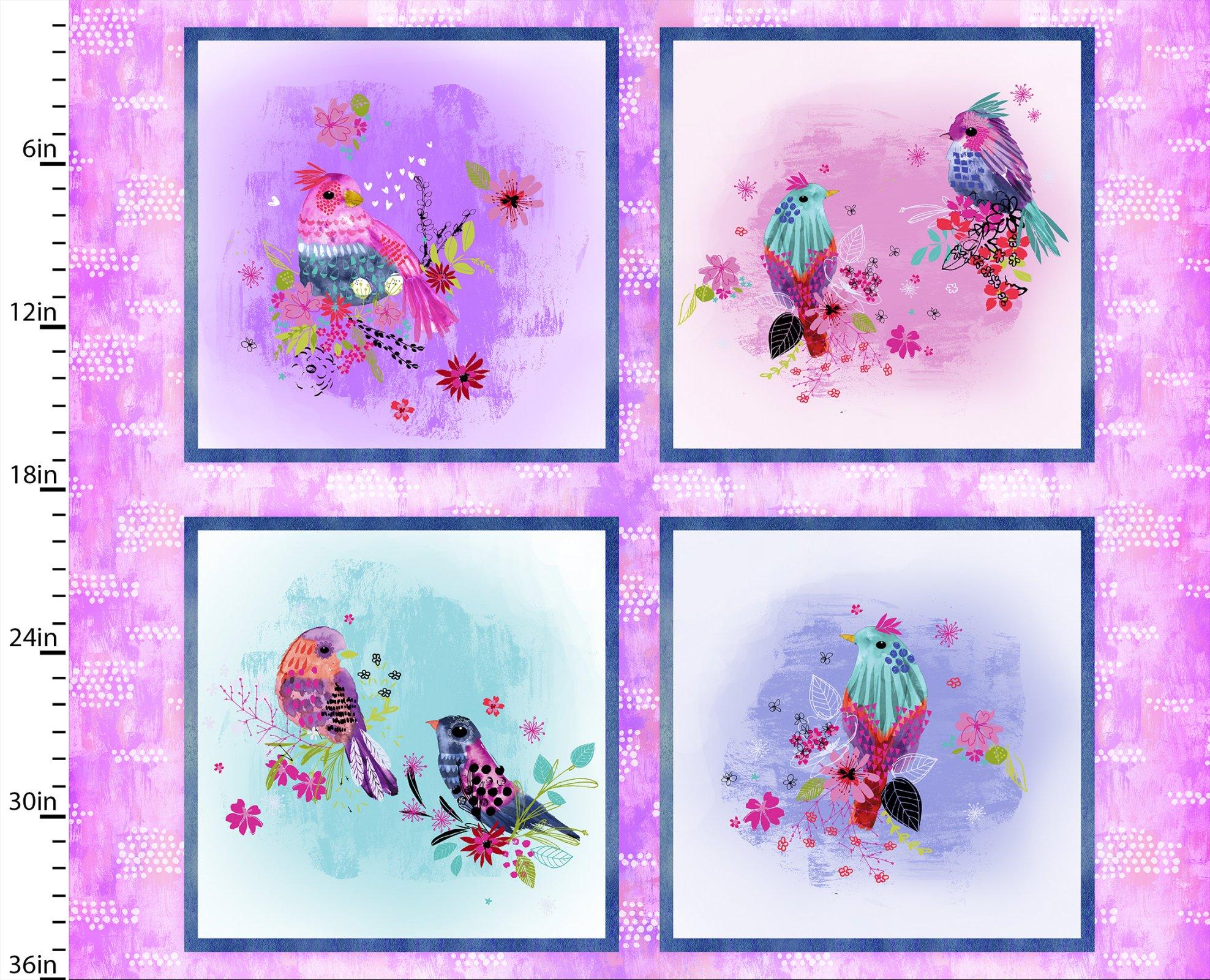 Bright Birds Collection<br>14987-MULTI