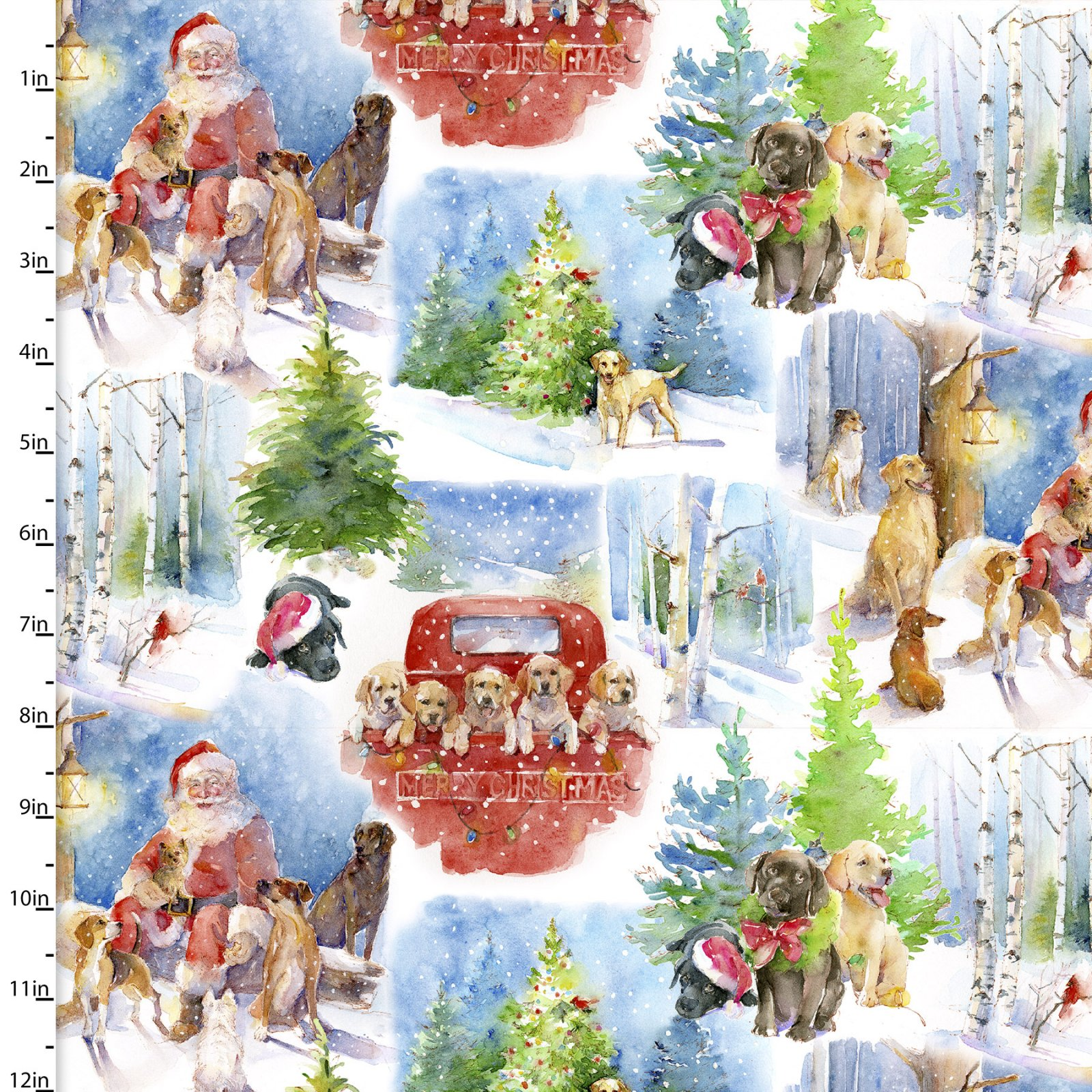 Santa's Helpers Collection by John Keeling<br>15121-WHITE