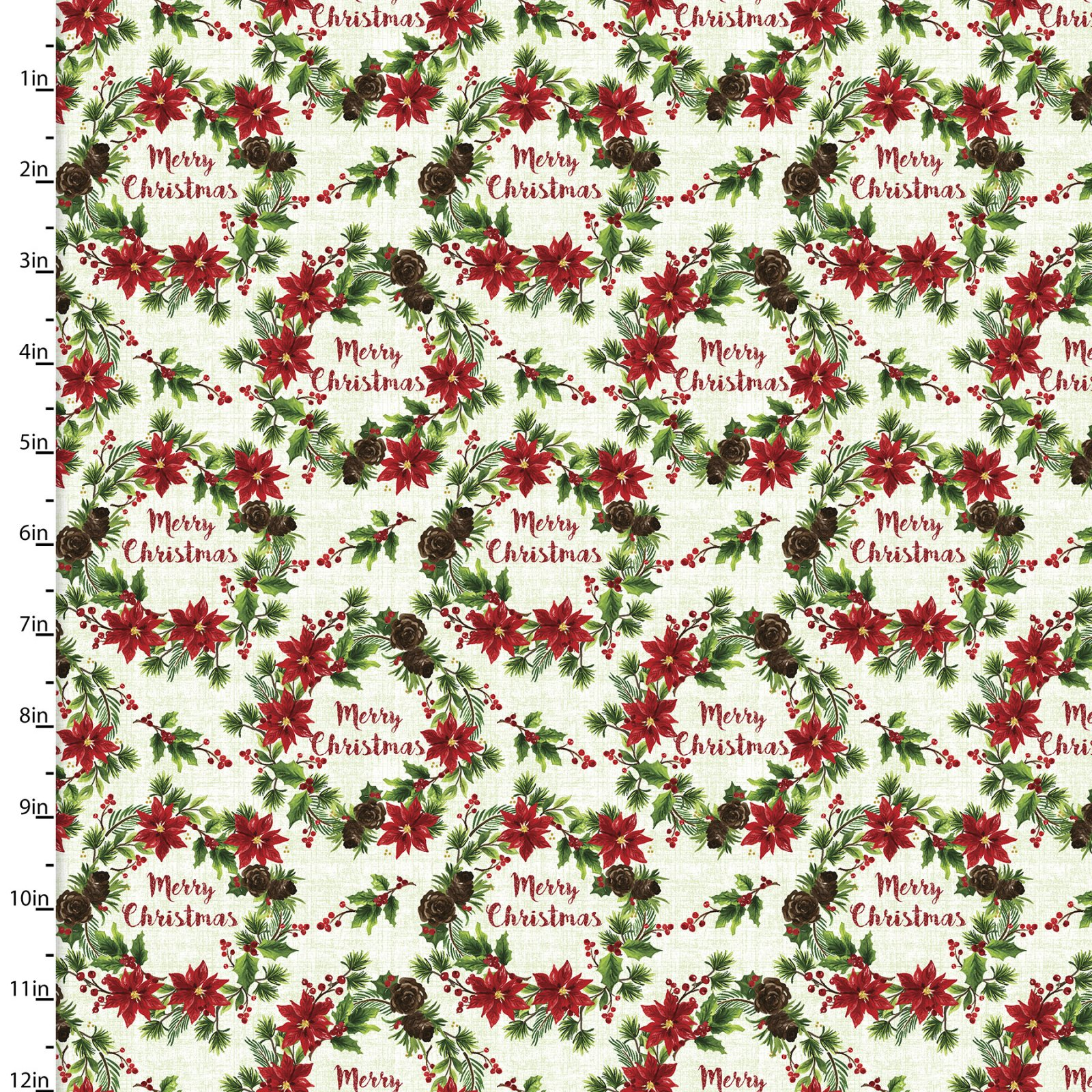 Christmas Floral Collection by Sharon Lee<br>15133-MULTI