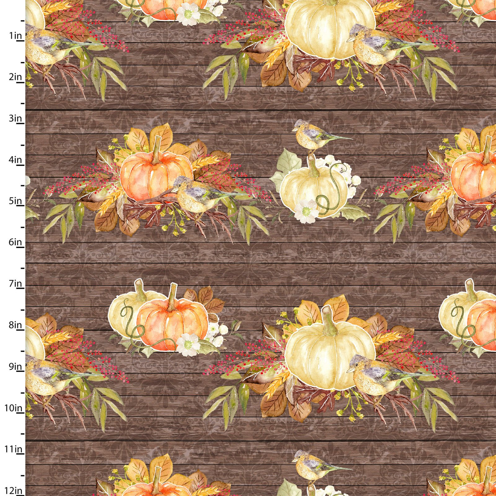 Rustic Harvest Collection<br>15156-BROWN