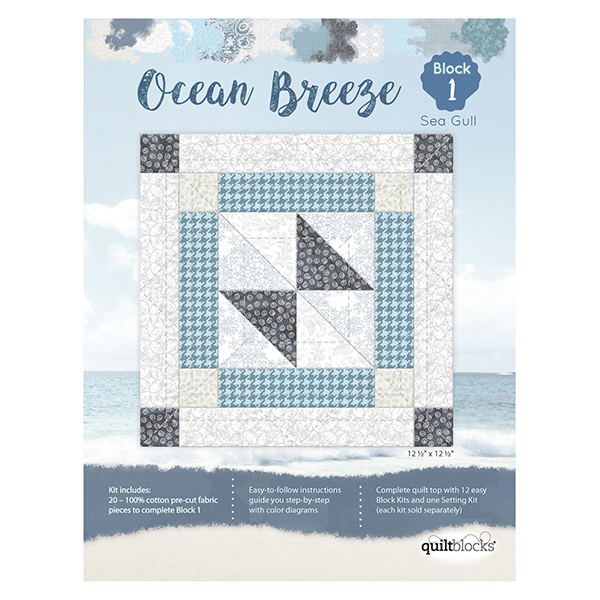 Ocean Breeze<br> Block 1 - Sea Gull