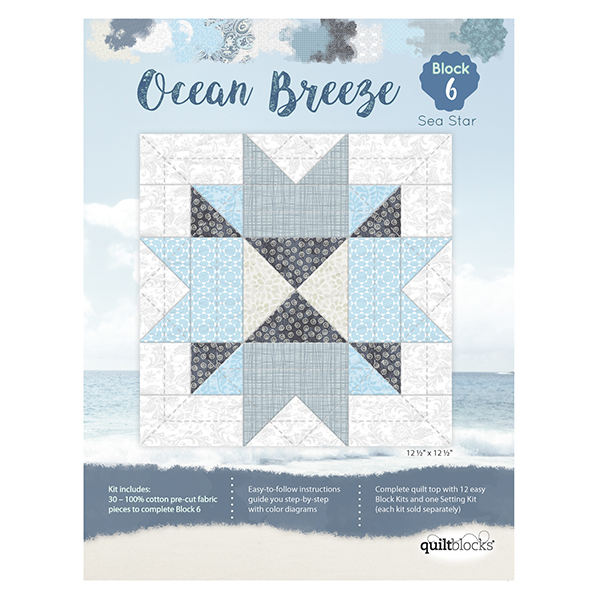 Ocean Breeze<br> Block 6 - Sea Star