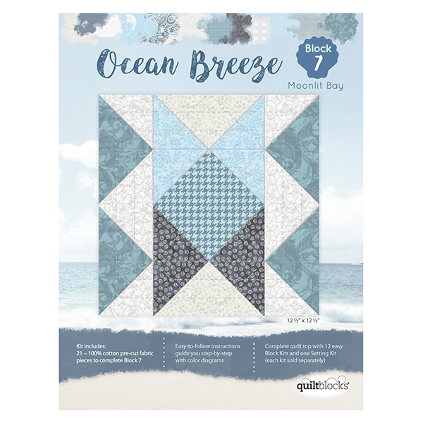 Ocean Breeze<br> Block 7 - Moonlit Bay