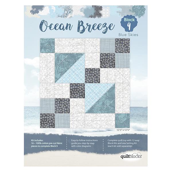 Ocean Breeze<br> Block 9 - Blue Skies