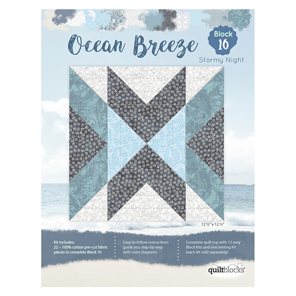 Ocean Breeze<br> Block 10 - Stormy Night