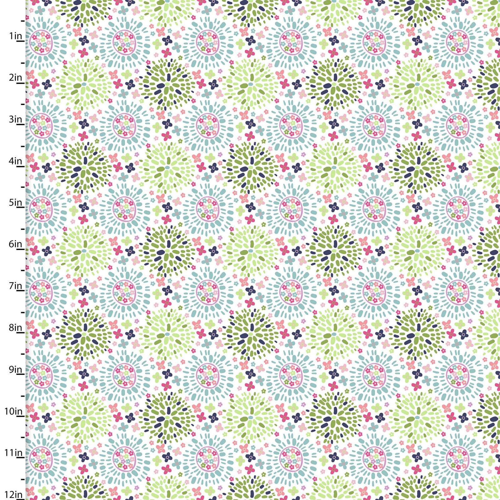 Hello Spring Collection<br>15981-WHT-CTN-D