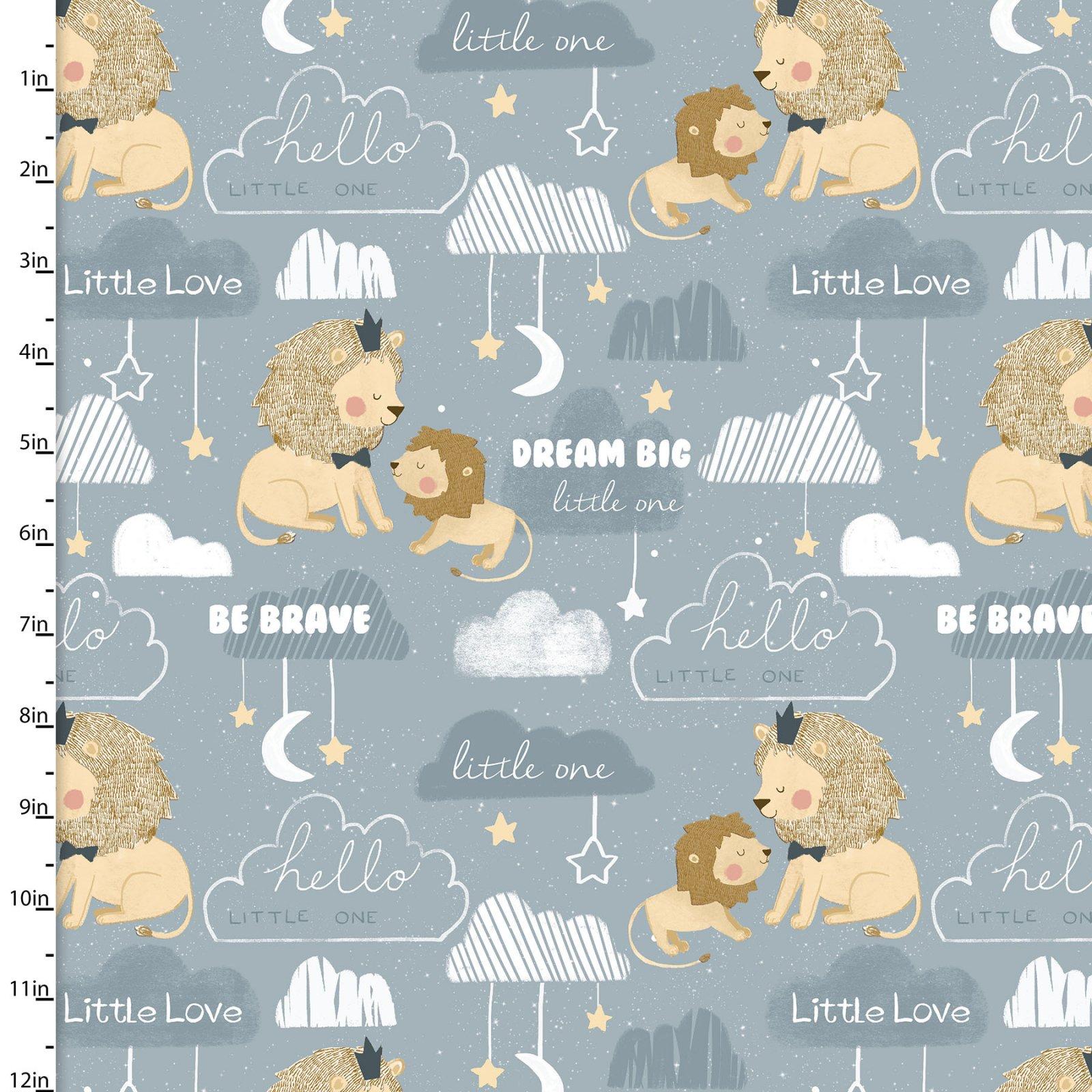 Little Lion Collection<br>16058-BLU-CTN-D