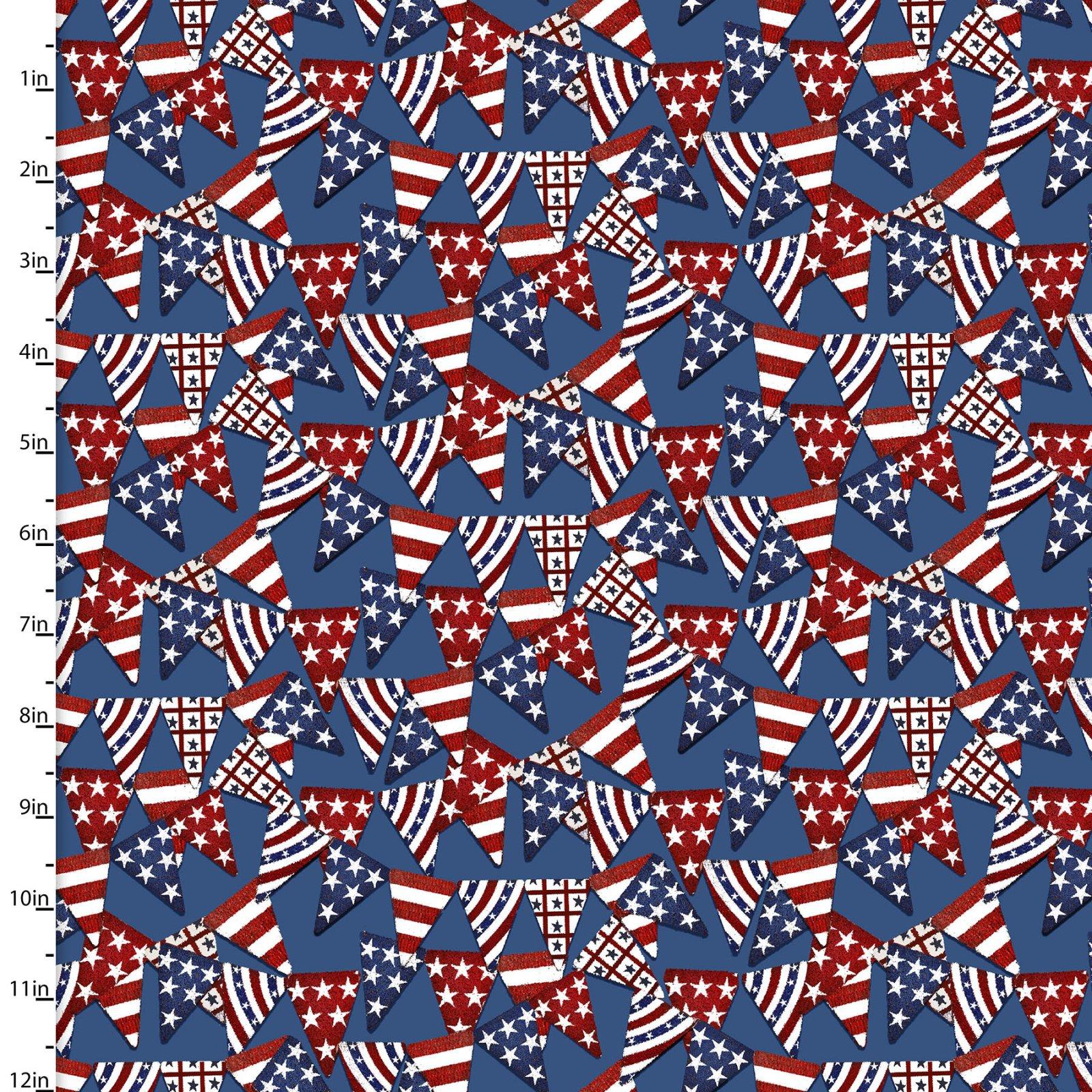 American Spirit Collection<br>16066-BLU-CTN-D