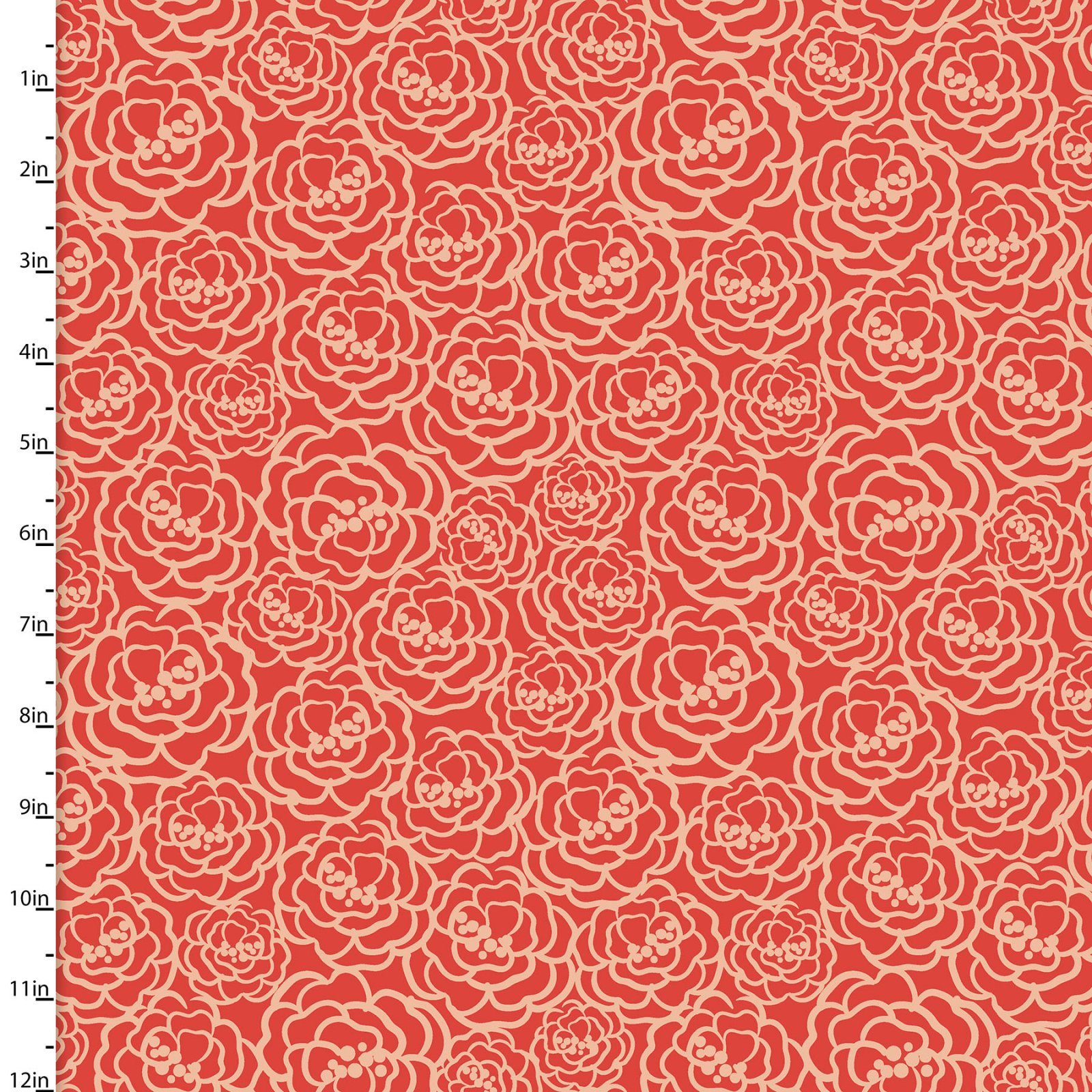Madison Collection<br>16511-RED-CTN-D
