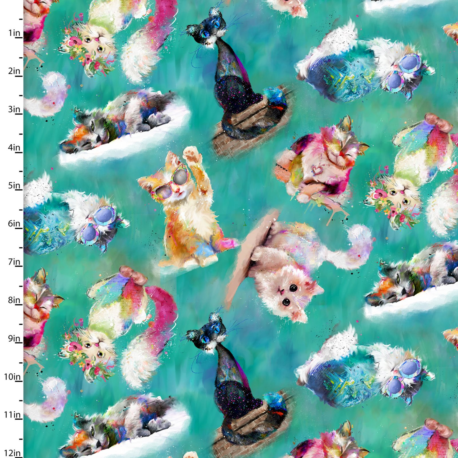 Good Kitty Collection<br>16548-TRQ-CTN-D