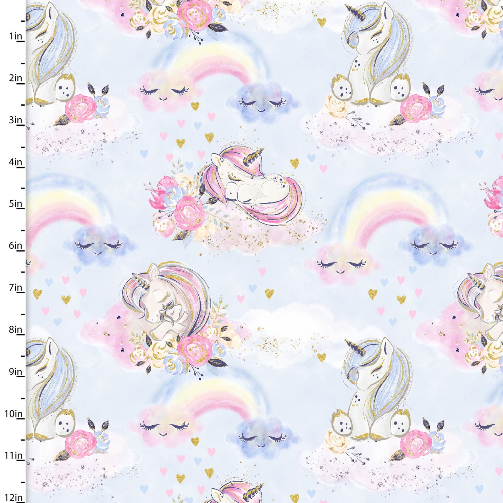 Unicorn Utopia Collection<br>16569-BLU-CTN-D