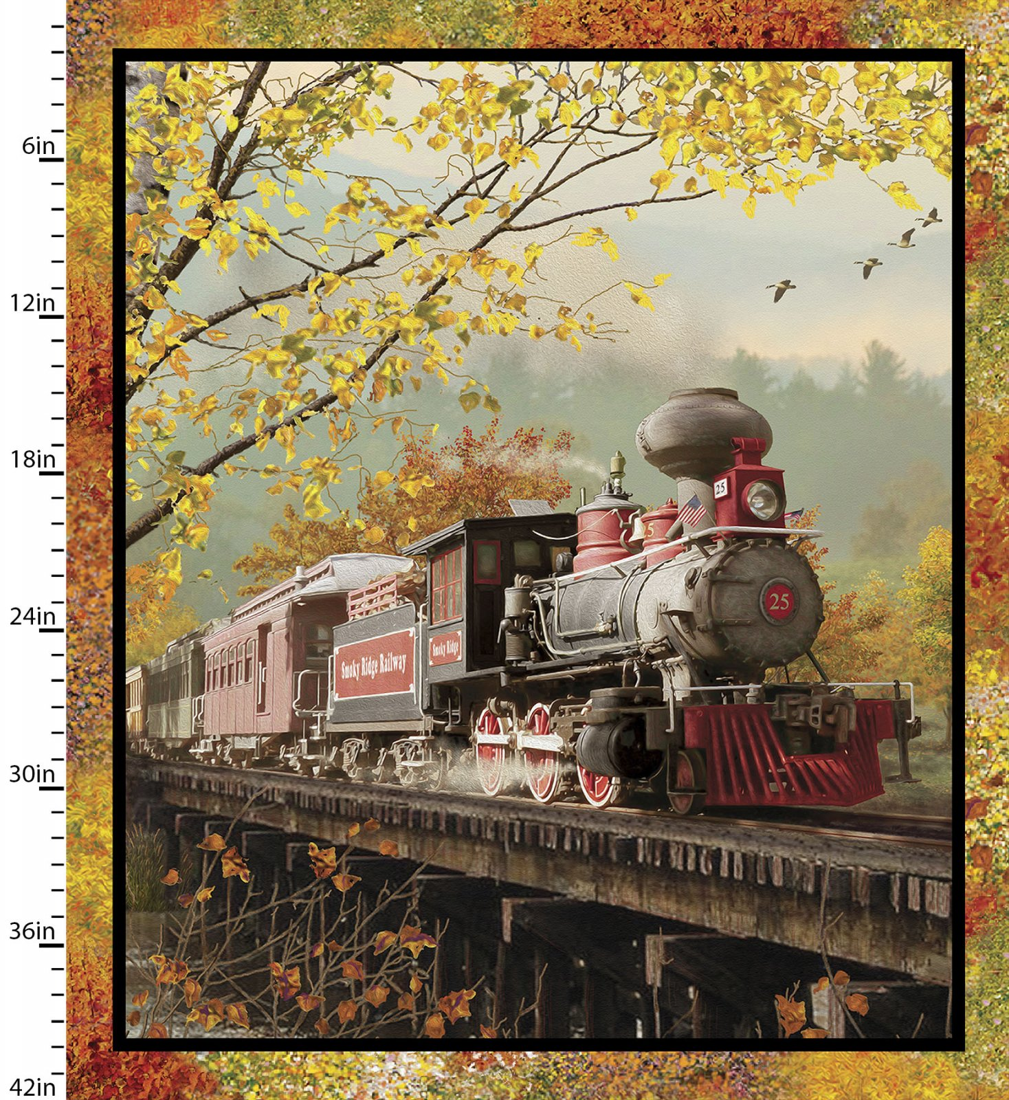 Autumn Steam Collection<br>16584-MLT-CTN-D