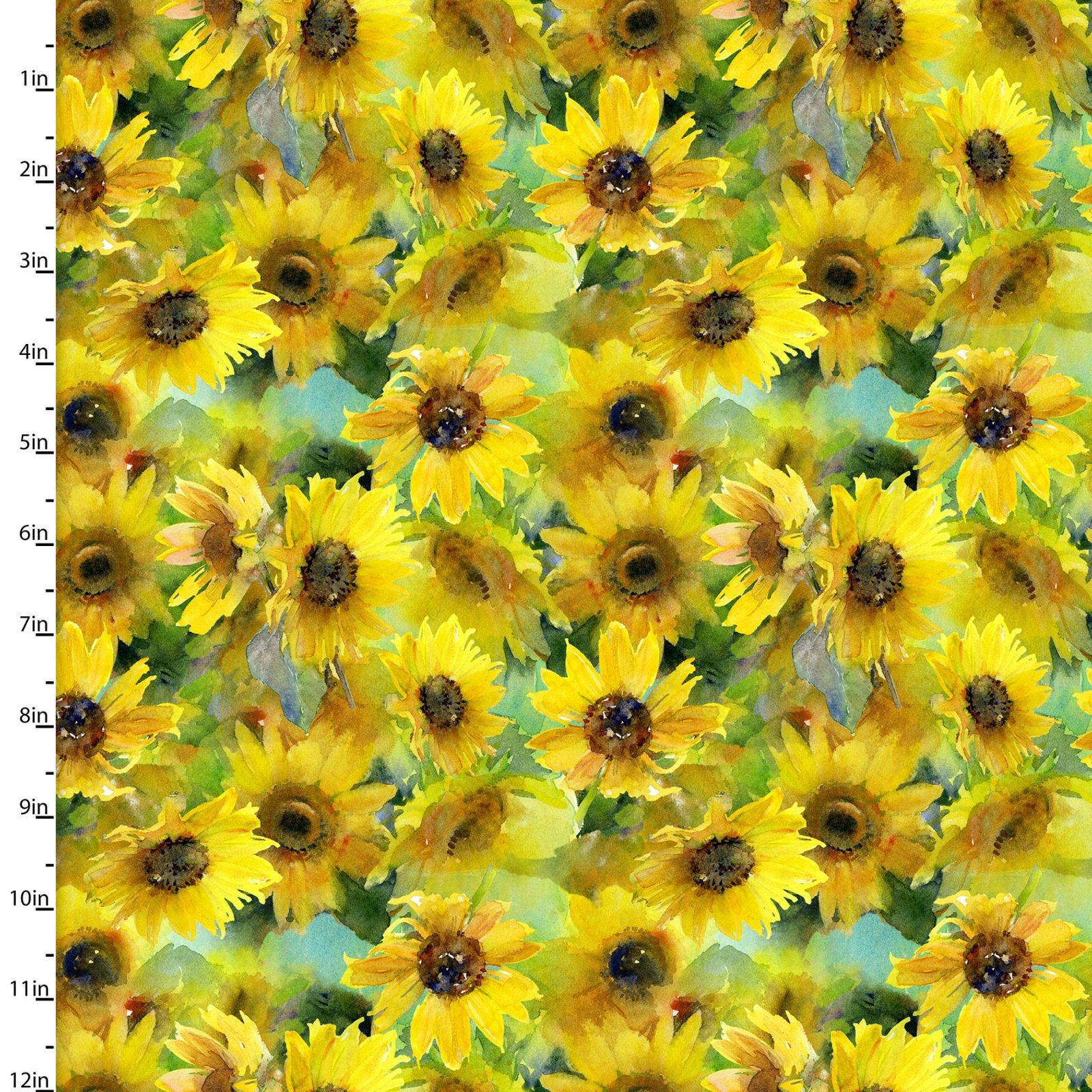Sunflower Stampede Collection<br>16598-YLW-CTN-D