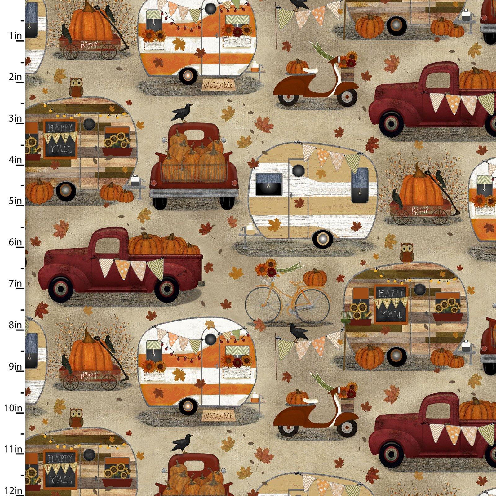 Harvest Campers Collection<br>16632-CRM-CTN-D