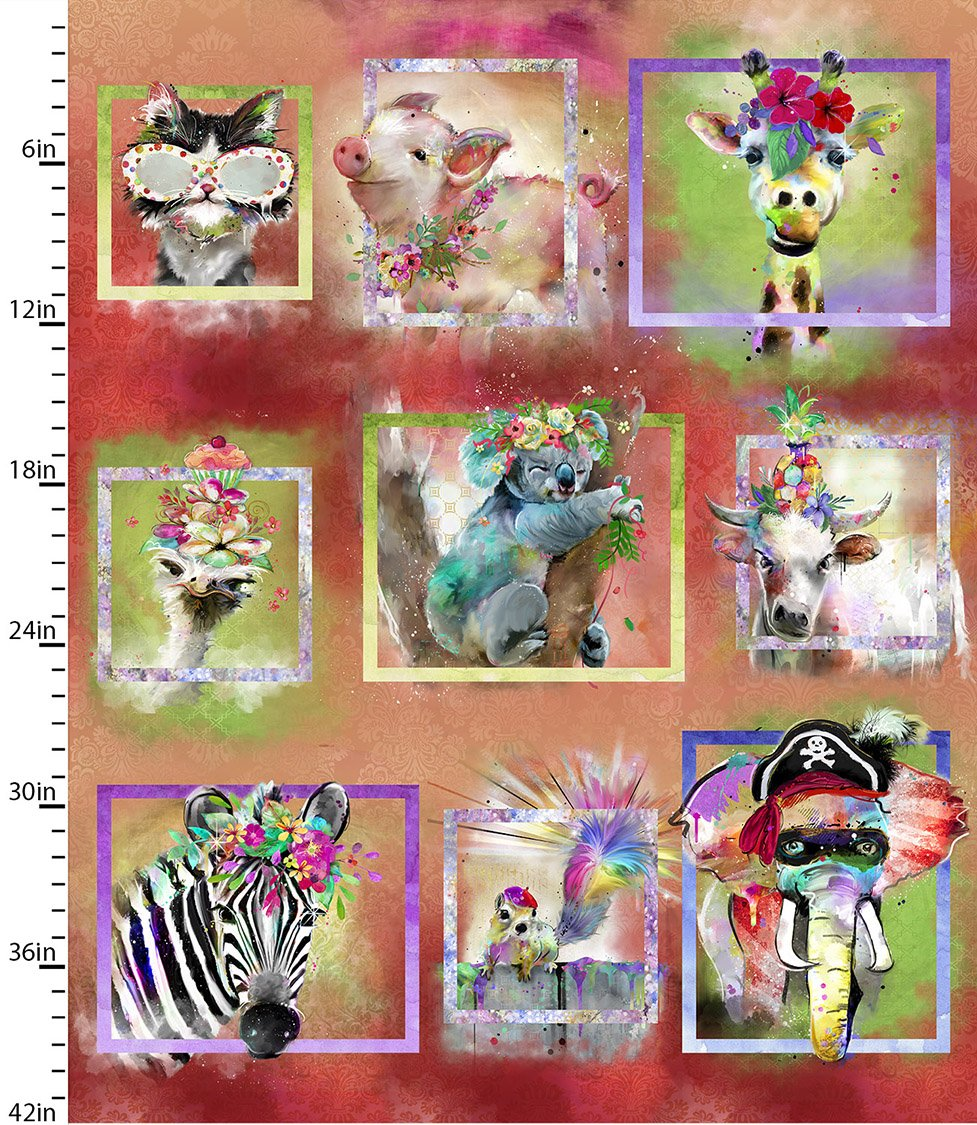 Party Animals Collection<br>17318-MLT-CTN-D