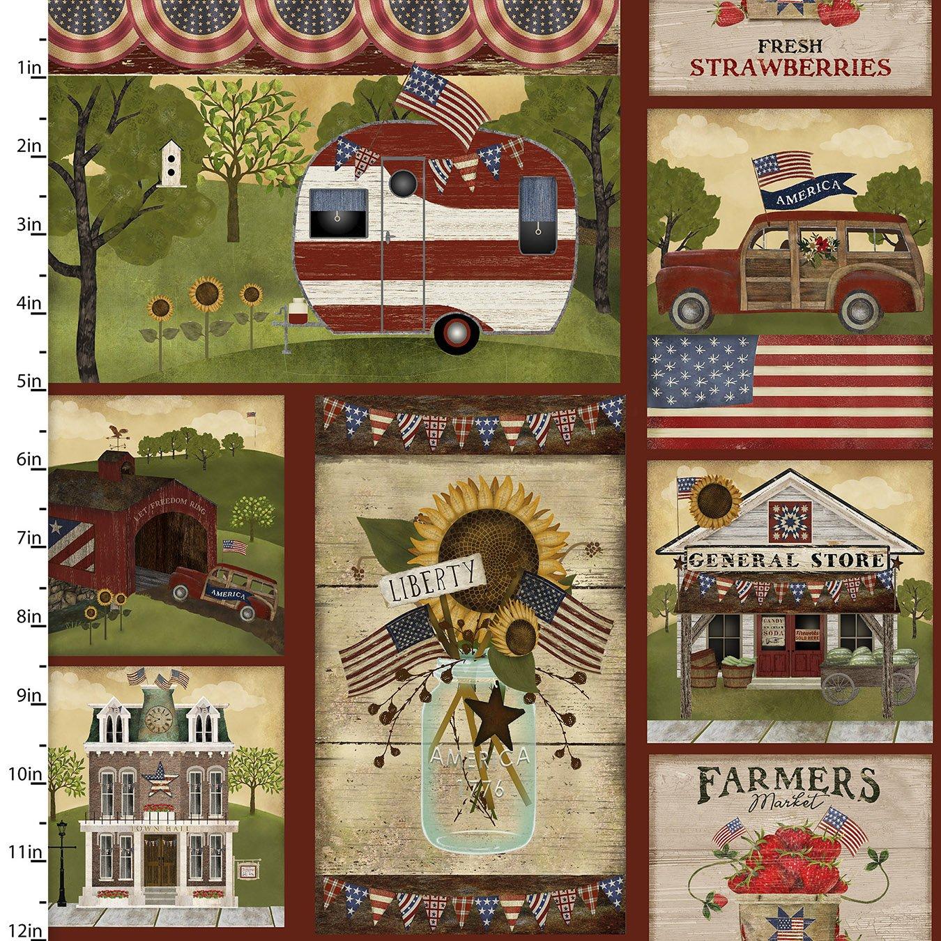 Patriotic Summer Collection<br>17342-MLT-CTN-D