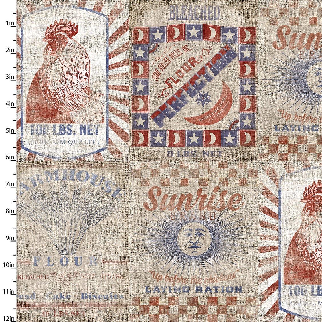 Patriotic Summer Collection<br>17351-TAN-CTN-D