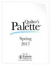 Quilter's Palette Spring 2017 Catalog